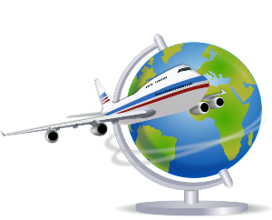 Traveling Plane and Globe